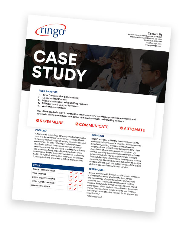 Case Study:  Tech Industry