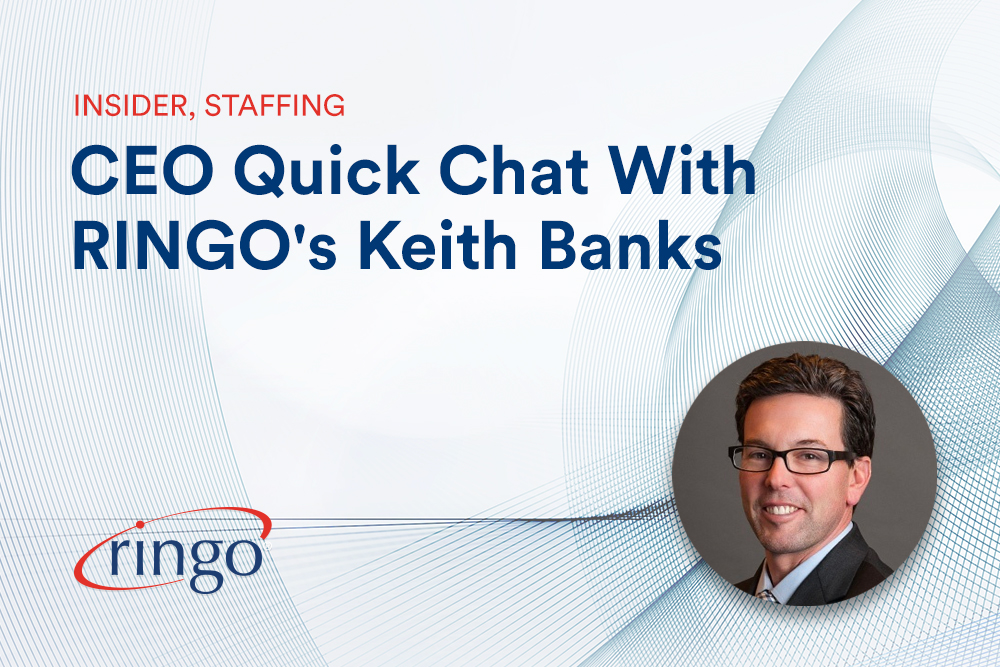 CEO Quick Chat With RINGO's Keith Banks